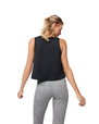 Yogatopp Breeze Crop Top, Black - Manduka