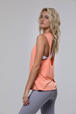 Twist Back Top Peach Pink - ONZIE