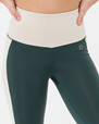 Emma High Waist Leggings, Racing Green- DOM