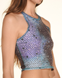 Yogatopp Mermaid Fairyqueen Teal Mermaid Tank - Teeki