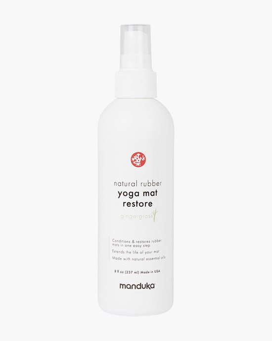 Natural Rubber Yoga Mat Restore 237ml. Gingergrass - Manduka